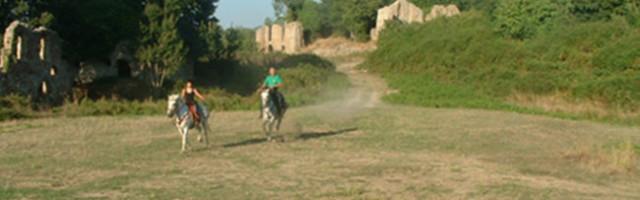 Le rovine di Canale Monterano